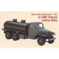 Solido Hachette 33 Camion GMC Citerne cabine tôlée