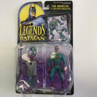 Legends of Batman The Riddler figurine avec carte de collection officielle Kenner 64130
