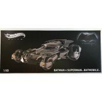 Batman v Superman Batmobile Hot Wheels Elite 1:18 CMC89