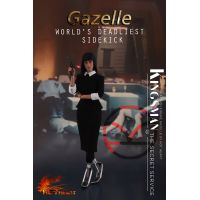 Kingsman The Secret Service Gazelle World's deadliest sidekick figurine échelle 1:6 Hot Heart