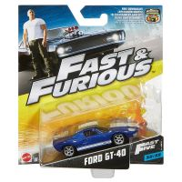 Fast and Furious Ford GT-40 (Fast 5) 32/32 échelle 1:55 Mattel (2016) FCN88