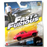 Fast and Furious Chevy Corvette 1966 (F8) 30/32 échelle 1:55 Mattel (2016) FCN87