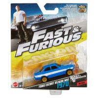 Fast and Furious Ford Escort RS1600 MKI 1970 (Fast & Furious 6) 1/32 échelle 1:55 Mattel (2016) FCF41