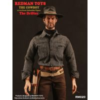 The Cowboy The Drifter (style Clint Eastwood) figurine échelle 1:6 Redman Toys RM020