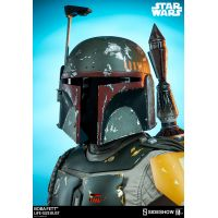 Star Wars Boba Fett buste �chelle 1:1 grandeur nature Sideshow Collectibles 400082