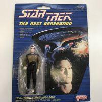 Star Trek The Next Generation TNG Lieutenant Commander Data Galoob - emballage légèrement endommagé