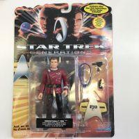 Star Trek Generations Admiral Jmes T Kirk Ancien capitaine de l'Entreprise d'origine figurine Playmates