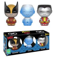 Dorbz X-Men ensemble de 3 figurines Wolverine-Iceman-Colossus 2016 Summer Convention Exclusive Funko