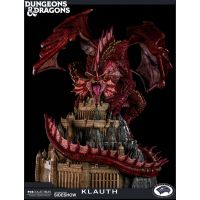 Dungeons & Dragons Klauth dragon rouge statue Pop Culture Shock 903514