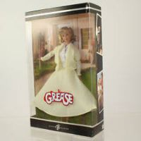 Grease poupée Barbie avec robe jaune (2004) Mattel C4773