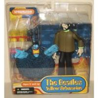 The Beatles Yellow Submarine George with Blue Meanie figurine Spawn McFarlane