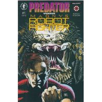 Predator vs Magnus Robot Fighter Complete Set 1-2 Dark Horse  VF-NM