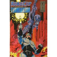 Robocop Versus The Terminator Complete Set 1-4 Dark Horse  VF-NM