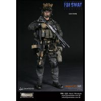 FBI SWAT San Diego Special Weapons and Tactics Team Midnight OPS figurine 1:6 Dam Toys 78044B