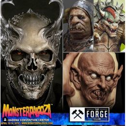 Monsterpalooza du 12 au 14 avril 2019 à Pasadena, Californie.