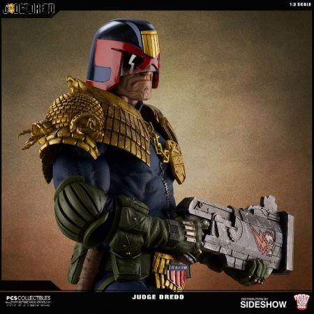 Judge Dredd Statue Pop Culture Shock 903376