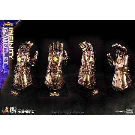 Infinity Gauntlet Avengers: Infinity War Réplique grandeur nature échelle 1:1 Série Life-Size Masterpiece Series Prop Replica Hot Toys 903428