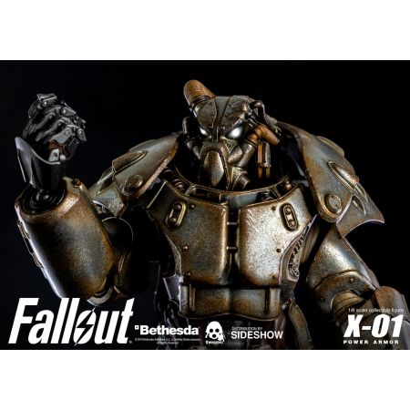 X-01 Power Armor Fallout 1:6 Threezero 904252