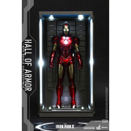 Hall of Armor Diorama Iron Man 3 pour figurines 1:6 Hot Toys 904263