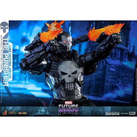 The Punisher War Machine Armor Série Video Game Masterpiece MARVEL Future Fight figurine 1:6 Diecast Hot Toys 904324