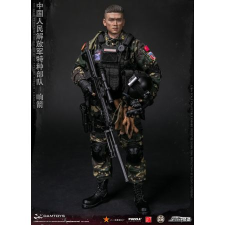 Chinese People's Liberation Army Forces Spéciales Xiangjian figurine 1:6 Dam Toys 78048