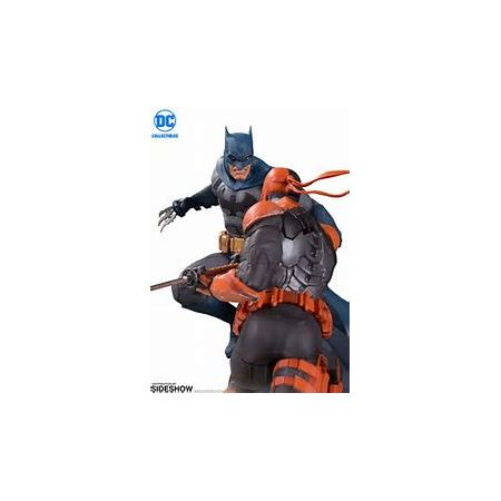 Batman VS Deathstroke Statue DC Collectibles