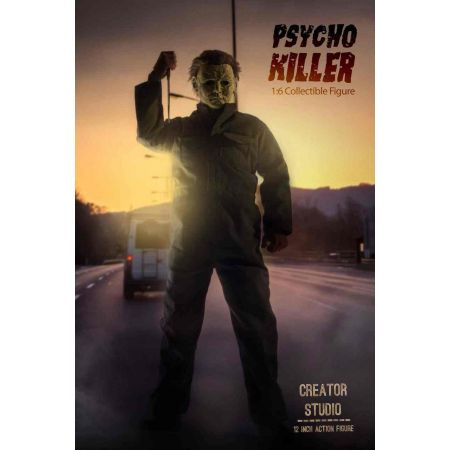 Psycho Killer style Halloween figurine 1:6 Creator Studio CRS-002