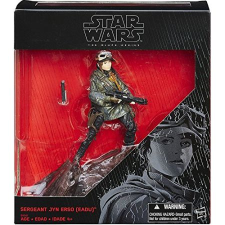 Star Wars The Black Series 6-inch - Sergeant Jyn Erso (Eadu) Exclusive Hasbro