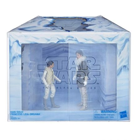 Star Wars The Black Series 6-inch - Hoth Leia Organa & Han Solo Exclusive Hasbro