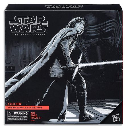 Star Wars The Black Series 6-inch - Kylo Ren  Throne Room Exclusive Hasbro