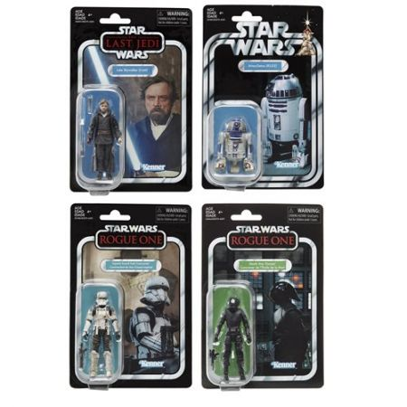Star Wars The Vintage Collection Wave 6 Set of 4 Figures Hasbro