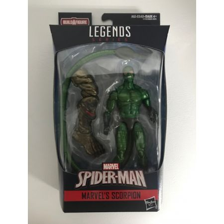 Marvel Legends Spider-Man Molten Man BAF Series - Scorpion