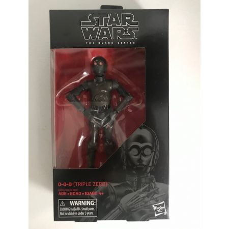 Star Wars The Black Series 6-inch - 0-0-0 (Triple Zero) Hasbro 89