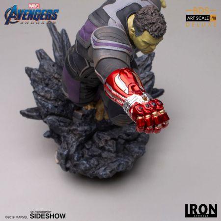 Hulk (Deluxe) Avengers: Endgame Statue 1:10 Iron Studios 904791