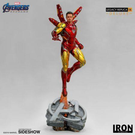 Iron Man Mark LXXXV (MK85) (Deluxe) Avengers: Endgame Statue 1:4 Iron Studios 904874