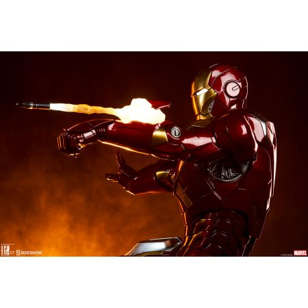 Iron Man Mark VII Maquette Sideshow Collectibles 300281