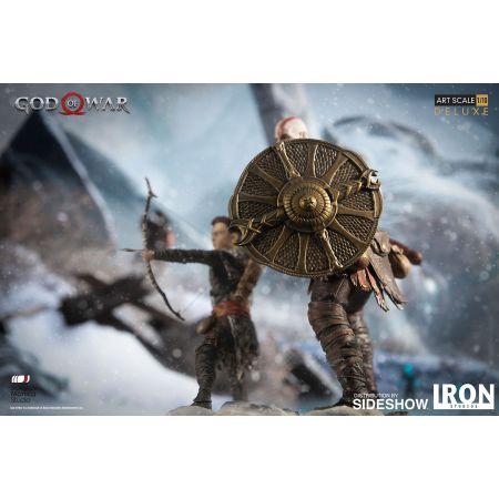 Kratos & Atreus Deluxe Statue 1:10 Iron Studios 904724