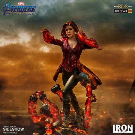 Scarlet Witch Avengers: Endgame Statue 1:10 Iron Studios 904744