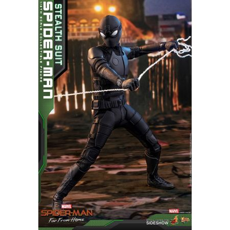 Spider-Man (Stealth Suit) Spider-Man: Far From Home REGULIER figurine 1:6 Hot Toys 904857