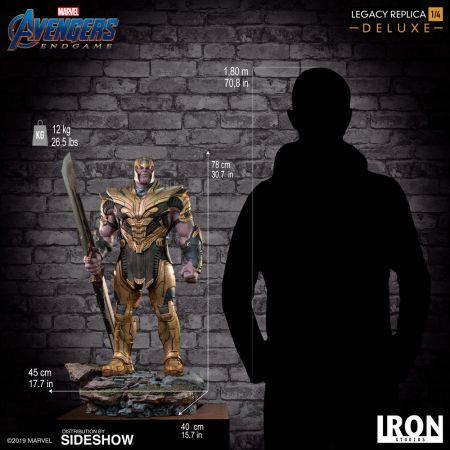 Thanos (Deluxe) Avengers: Endgame Statue 1:4 Iron Studios 904813