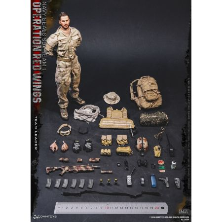 Operation Red Wings - Navy Seals SDV Team 1 - Team Leader figurine 1:6 Dam Toys 78069