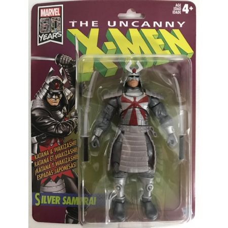 Marvel Legends X-Men Retro Wave 1 Hasbro - Silver Samurai