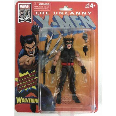Marvel Legends X-Men Retro Wave 1 Hasbro - Wolverine