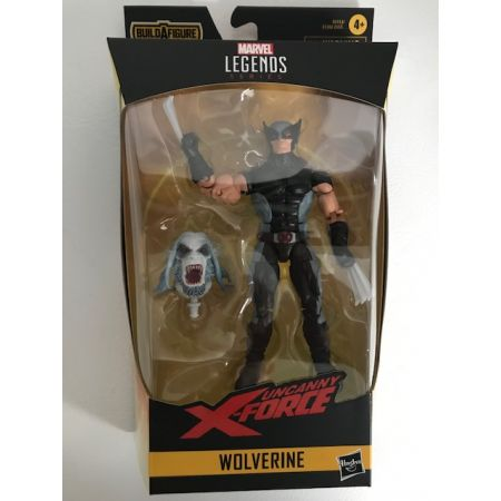 Marvel Legends X-Men Wendigo BAF Series - Wolverine (Uncanny X-Force) Hasbro