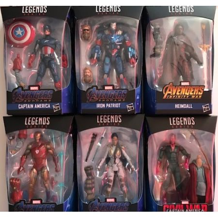 Marvel Legends Avengers Thor BAF Series Set of 6 Figures Hasbro
