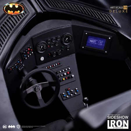 Batman & Batmobile Ensemble de collection de Luxe 1:10 Iron Studios 905009