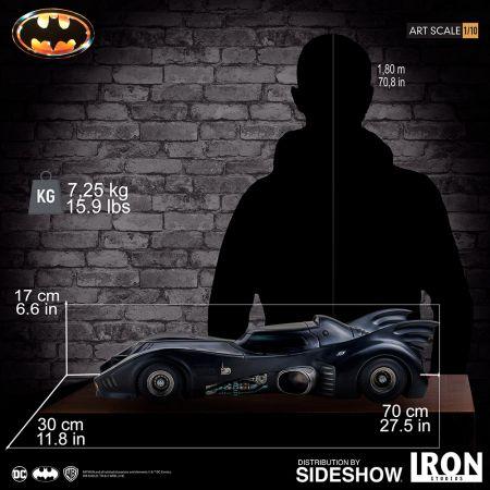 Batmobile Statue 1:10 Iron Studios 905147Batmobile Statue 1:10 Iron Studios 905147
