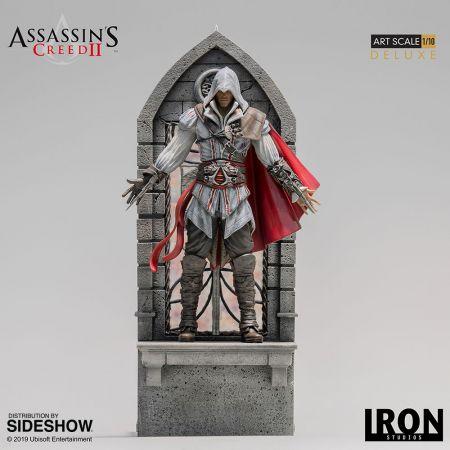 Ezio Auditore Version de Luxe statue 1:10 Iron Studios 904955