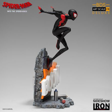 Miles Morales Statue 1:10 Série Battle Diorama Iron Studios 904965