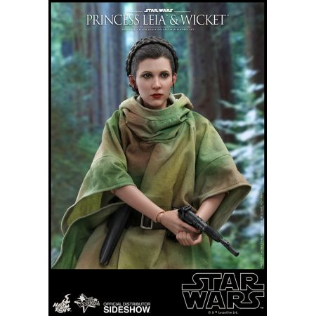 Princess Leia & Wicket 12 inch Star Wars Episode VI: Return of the Jedi by Hot Toys 905143